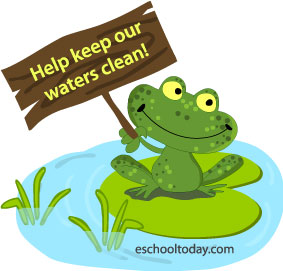 Learning about water pollution helps to know some things we can do to help.