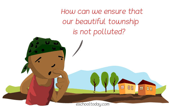 What is land pollution