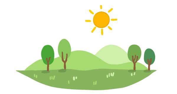 Solar energy is renewable energy