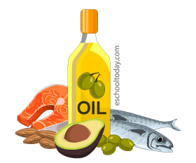 Foods that are high in good fats and oils