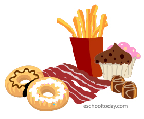 Foods that are high in saturated fats